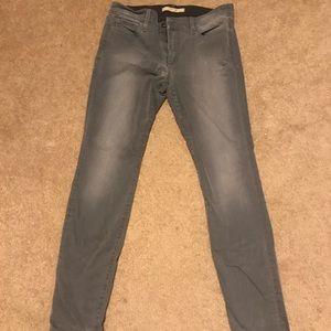 Joes skinny ankle grey pants